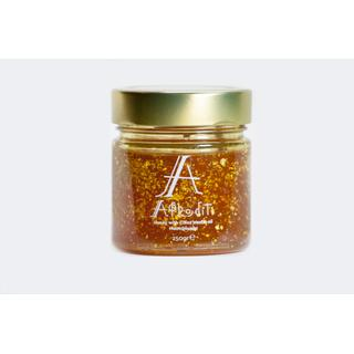 Honey With Chios Mastic Oil & Gold 22K 250 gr